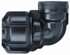 "½"" BSP Elbow POL x FI BSP 25mm"