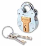660 Old English 4 Lever Padlock 64mm