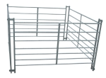 Alpaca Hurdle 2.4m - 8 Rail interlocking 1.296M High