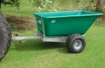 ATV 400l Tow Tipper Trailer
