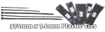 Cable Ties 370mm pk 100