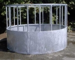 Circular Galvanised Cattle Feeder - Heavy 7ft Dia. 4ft 9in High