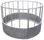 Circular Galvanised Cattle Feeder - Standard 7ft Dia. 4ft 3in High
