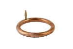 Copper Bull Ring 3""