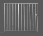 Dog Pen Front C/W Gate each