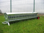 Galvanised Lamb Creep Feeder 8ft