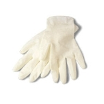 Latex Medium Disposable Gloves pk 100