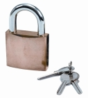 LN4 Solid Brass Padlock 40mm