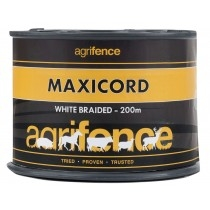 maxicord-white-electric-fence-braided-rope-500m