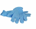 Nitrile Medium Disposable Gloves pk 100