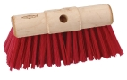 P12 Scavenger Red PVC Broom Head 330mm