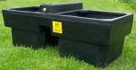 Plastic Drinking Trough 62 gal