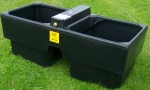 Plastic Drinking Trough 90 gal