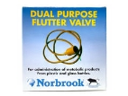 "Rubber Flutter Valve( for 1 1/2"" Needles 13g)"