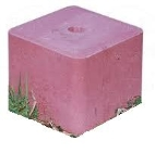 Salt Block no Copper 10kg. pk 2