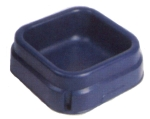 Square floor Feeder Blue