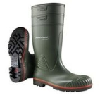 Steel Toecap Safety Wellington Boots Size  8