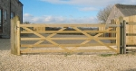 Timber Field Gate 11ft
